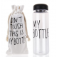 'My Bottle' avec sac 'Don't touch this is my bottle' *282