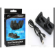 Double chargeur USB manette PS4