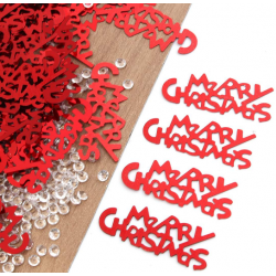Confettis de table Merry Christmas lot de 300